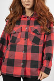 Red And Black Checked Jacket