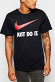 Black Nike Just Do it T-shirt