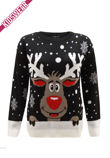 Black Kids X Reindeer Christmas Jumper