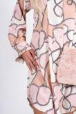 Chain Luxe Shirt Dress