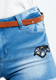Diamante Buckle Belt