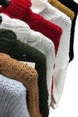 Frill Ruffle Hem Knit Jumper