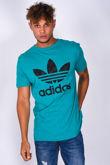 Green Adidas Trefoil T-shirt