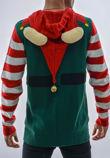 Green Elf Long Sleeve Christmas Jumper