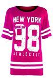 Khaki New York 98 Oversize T-Shirt
