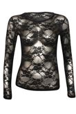 Long Sleeves Lace Top