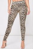 Leopard High Waist Vinyl Leggings
