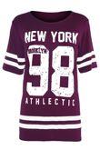 Peach New York 98 Oversize T-Shirt