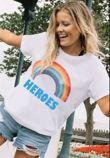 Black Rainbow NHS Heros Tee Top Preorder