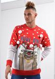 Red Gangsta Rude Dolf Christmas Jumper