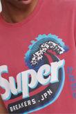 Red Superdry Shapers N Makers Tee