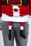 Red Santa Costume Christmas Jumper