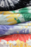 Tie Dye Shoulder Pad Mini Dress