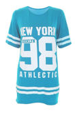 Apple Green New York 98 Oversize T-Shirt