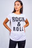 White Rock & Roll Tee Top