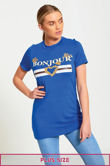 Plus Size Royal Bonjour Love T-Shirt