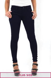 Plus Size Navy Stretch Slim Fit Skinny Jegging