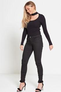 Black Basic Skinny Jeans