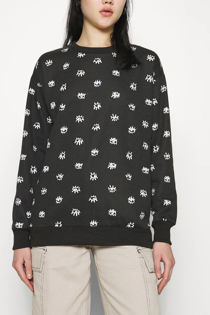 Black Eye Print Sweatshirt