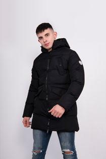 Black Tingley Padded Parka Jacket