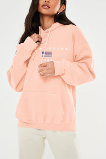 Blush Los Angeles Oversized Fleece Hoodie