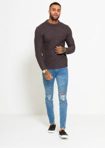 Bulging Rib Jumper
