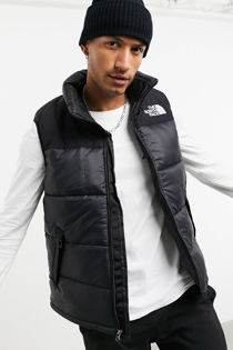 Black The North Face Himalayan Vest