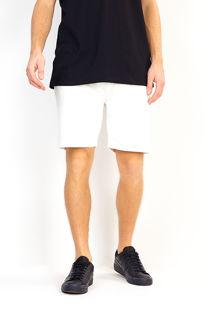 Cream Jersey Sweat Shorts