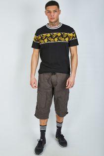 Charcoal Long Cargo Shorts