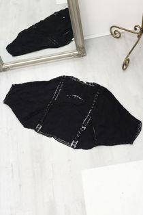 Crochet Batwing Sleeve Top