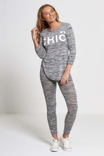 Dark Grey NO9 Chic Tracksuit