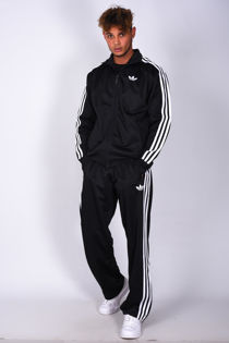 Black Adidas Adicolor Sport Zip Up Tracksuit