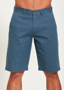 Grey Basic Kneecap Shorts
