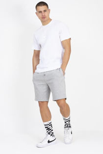 Grey Jersey Sweat Shorts