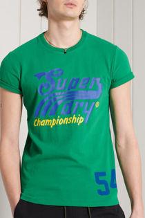 Green Superdry Collegiate Graphic Tee