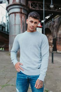 Fine Textured Knit Jumper