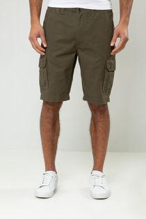 Khaki Bute Cargo Shorts