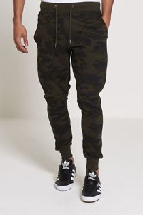 Khaki Camo Jogging Bottom