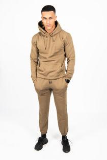 Khaki Pullover Hooded Tracksuit
