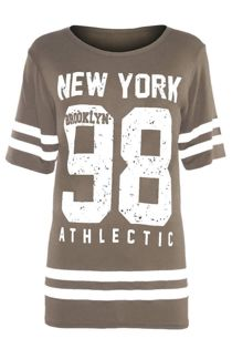 Mocha New York 98 Oversize T-Shirt