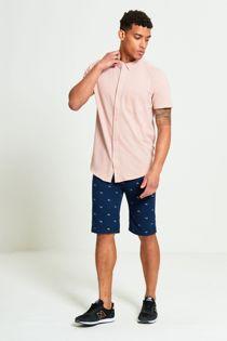 Navy Penny Farthing Chino Shorts