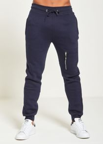 Navy Skinny Fit Jogging Bottom