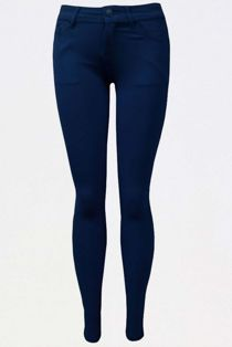 Navy Stretch Slim Fit Skinny Jegging