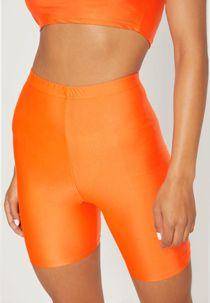 Orange Slinky Cycling Shorts