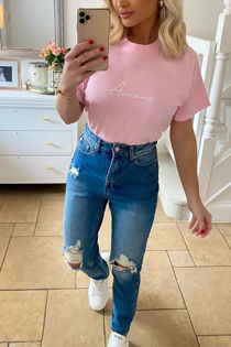 Pink Amour Tee