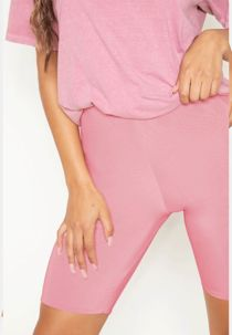 Pink Slinky Cycling Shorts