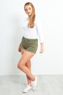 Plain Viscose Long Sleeves Tops