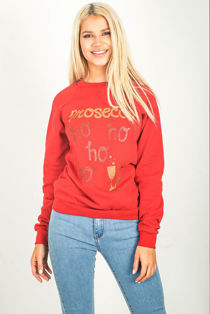 Red Ho Ho Prosecco SweatShirt