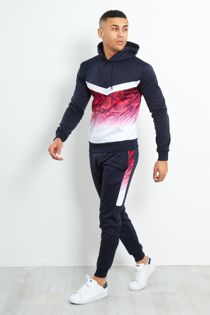 Rose Two-Tone Faded Pullover Tracksuit