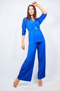 Royal Belted Two Piece Lounge Set